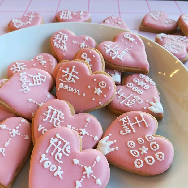 全国から問い合わせ!!!『ハート将棋クッキー』が今年もバレンタイン〜ホワイトデー時期に限定販売。