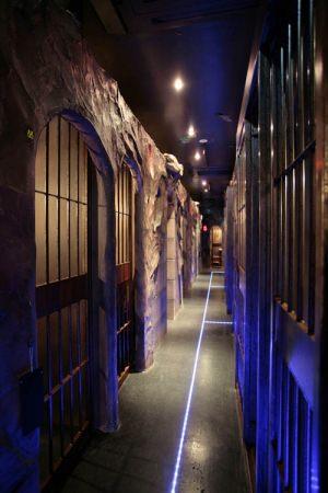 監獄がテーマのレストラン