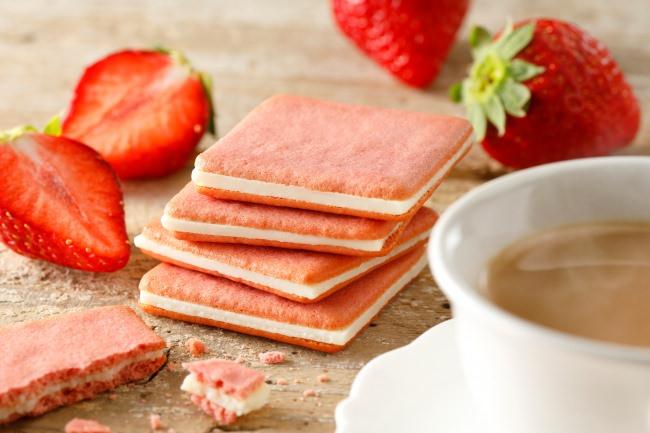 待望の新商品!「東京ミルクチーズ工場」から「ストロベリー&ミルクティークッキー」が季節限定で新登場!