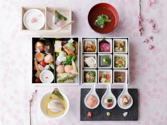 琵琶湖マリオットホテル Grill & Dining G マリオットスタイルで桜の季節の味覚を味わう 春期限定メニュー「SAKURA Lunch Box」を発売