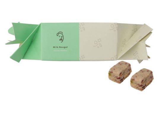 コンセプトショップ『TAICHIRO MORINAGA』  ホワイトデーに!ちょっとした贈り物に! 「ミルクヌガー<ピスタチオ&クランベリー>」 2月28日(木)新発売