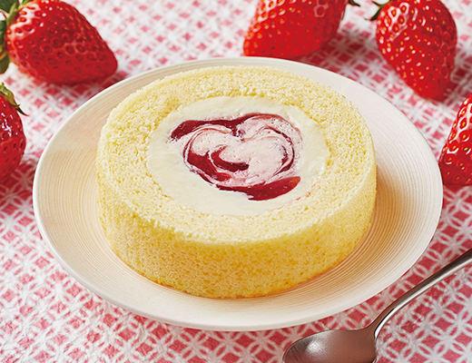 Uchi Café×八天堂 かすたーど苺ロールケーキ