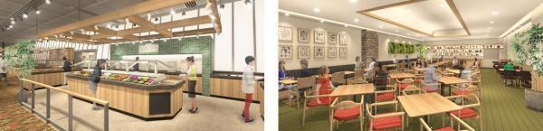 世界5カ国220店舗以上のサラダバー&グリルレストラン『シズラー』 アジア最大級「シズラー東京国際フォーラム店」 4月5日(金)オープン ~東京産野菜、限定メニューLボーンステーキを提供~