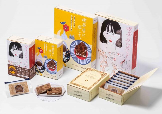 東京駅にグランドオープン!「銀座ぶどうの木」と「Hanako」がコラボした、喫茶と本がテーマの新スイーツブランド誕生