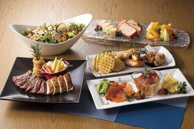 グリル料理と羽田空港の夜景を楽しむ「春のグランシェフコース」販売