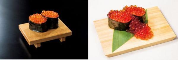 6月19日は「魚がし日本一・立喰い寿司の日」30周年記念イベント 値段そのまま、いくらの量が倍!人気メニュー再登場 毎月19日『いくらこぼれ』1貫200円(税別)「立喰い寿司 魚がし日本一」にて