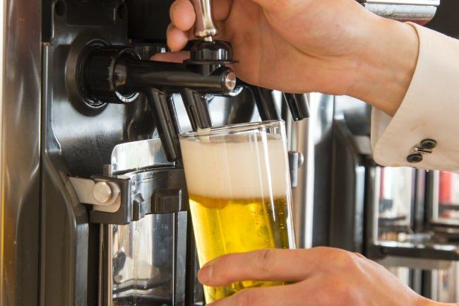 期間中は生ビールを含む豊富な銘柄をご用意