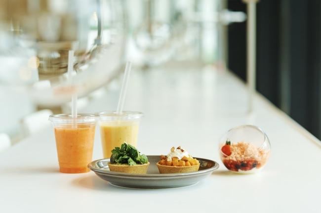資生堂グローバルイノベーションセンター「S/PARK」にベジセントリックカフェ「S/PARK Cafe」誕生!~食で内面からも美しく~