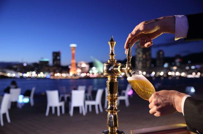 ラ・スイート神戸オーシャンズガーデン 美しすぎる絶景ビアガーデンで、ミシュランシェフ渾身のお料理を「オーシャンズビアガーデン2019」開催