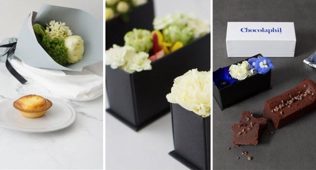 3日間限定。花とスイーツに思いを込めた母の日ギフト「Mother's day gift box」品質にこだわるフラワーショップとお菓子専門店のコラボが実現。