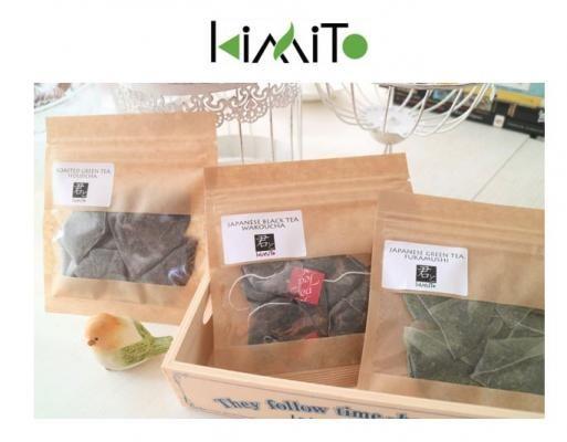 「君とKiMiTo」発売!異国風アーバンライフの日本茶