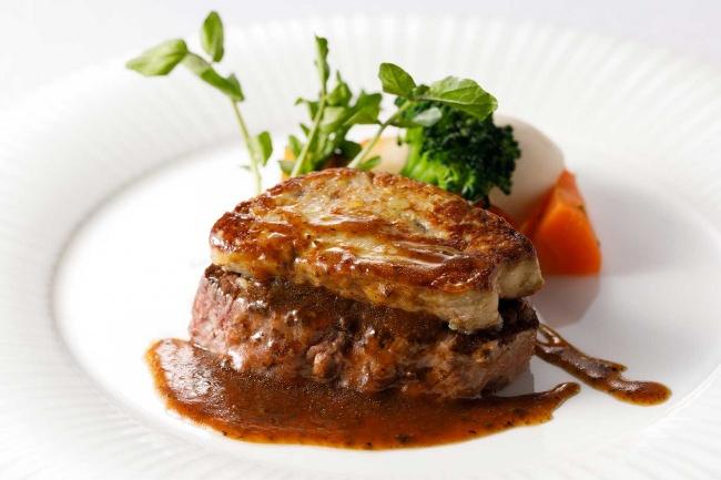 牛フィレ肉・フォアグラをメイン料理に。「ロッシーニフェア」のご案内