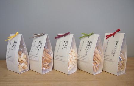米屋が作ったお菓子シリーズ。