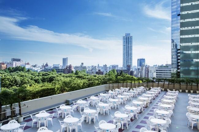 ヒルトン東京2019年天空のビアガーデンイメージ