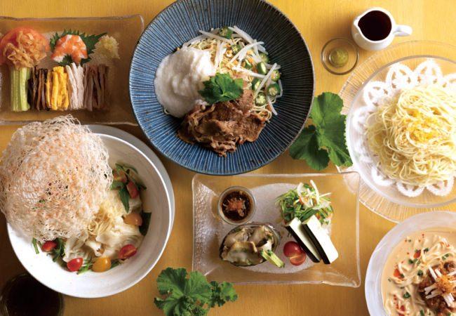 【ホテルオークラ福岡】桃花林、「夏の麺フェア」おすすめの新メニュー登場!