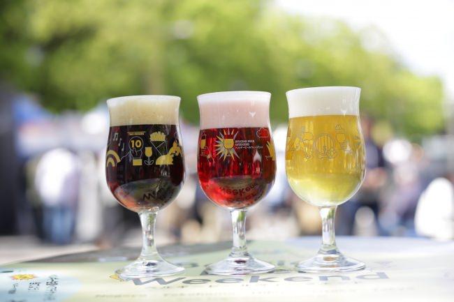 味も色も多彩なベルギービール