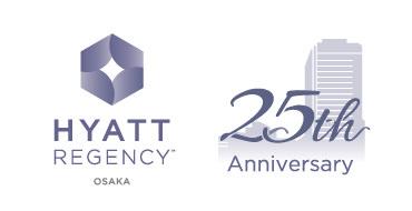 ハイアット リージェンシー 大阪はおかげさまで25周年