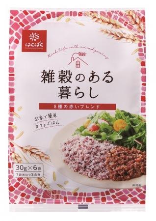 雑穀のある暮らし赤いブレンド(30g×6袋)、400円(税抜)