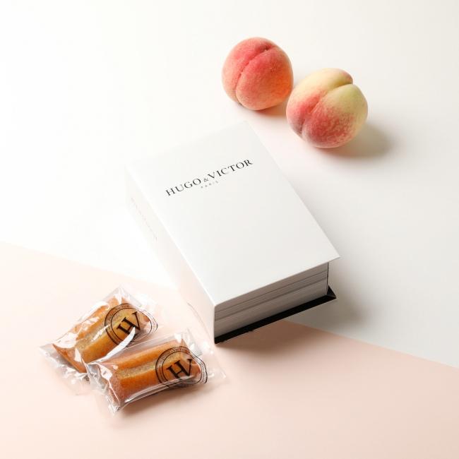 Financier Pêche(フィナンシェ ペッシュ)6個入 2,380円(税別) / 単品 400円(税別)