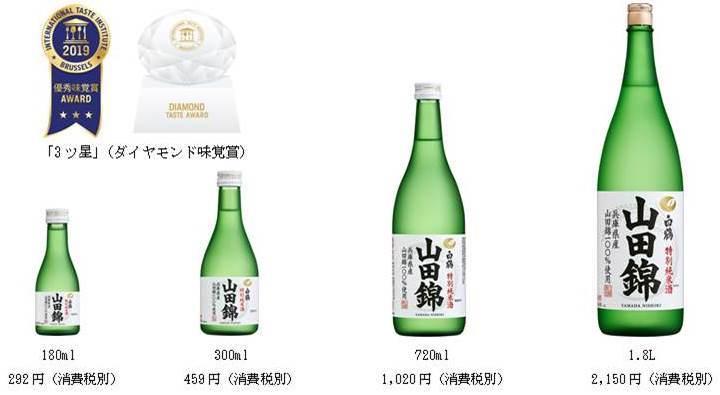 2019年ITIで3商品が優秀味覚賞「3ツ星」受賞