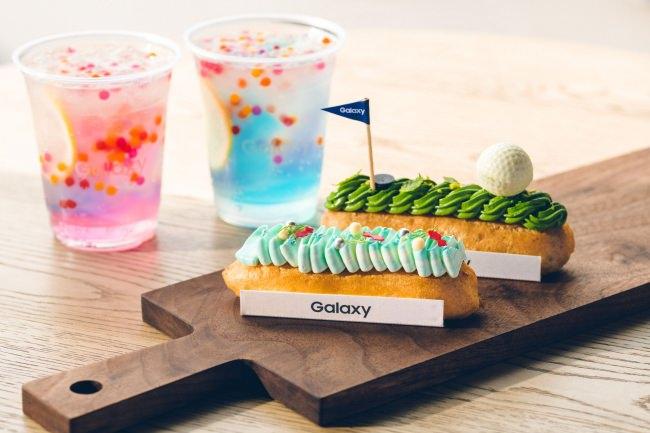 フォトジェニックなエクレアとドリンクがかわいいGalaxy Harajuku 2階『Galaxy Cafe』に新メニュー登場!
