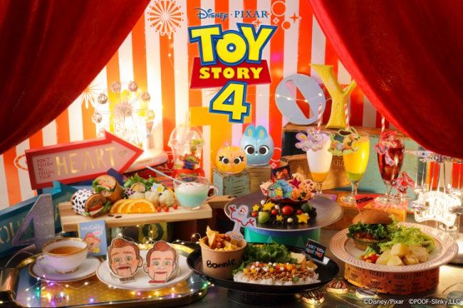 ディズニー/ピクサー最新作『トイ・ストーリー4』の公開を記念して「トイ・ストーリー4」OH MY CAFEオープン!!