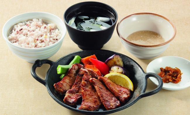 仙台名物牛たん焼き御膳(6枚)