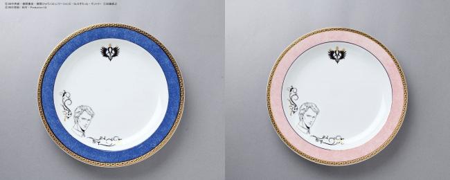 スーベニアプレート 金銀妖瞳(ヘテロクロミア)のスフレパンケーキ