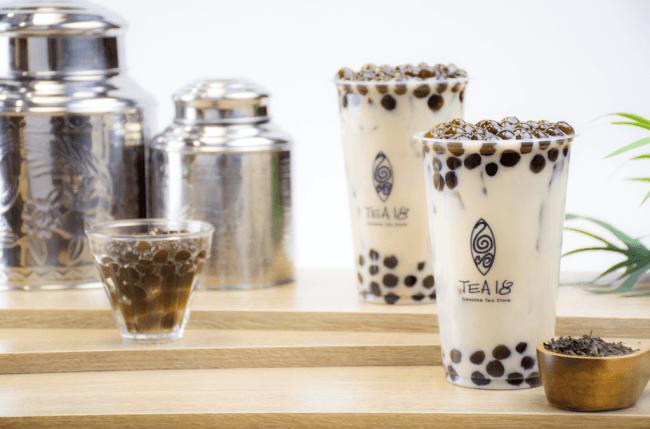 【広島初出店】渋谷・大阪・横浜で話題の台湾茶とタピオカ専門店『TEA18』が、そごう広島にオープン!