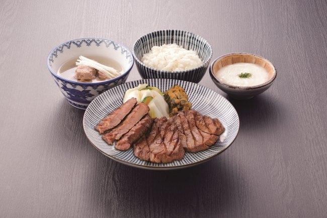 牛たん定食 1,922円(税込み)