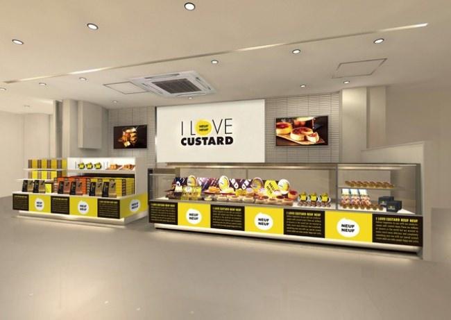 福岡発のカスタードスイーツ専門店「I LOVE CUSTARD NEUFNEUF」が8月7日、新たに生まれ変わる福岡空港にオープン!