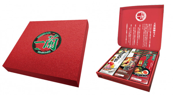 博多細麺を3度楽しめる限定セット!「一蘭 三秋細麺セット」を、8月6日(火)より先行受付開始。