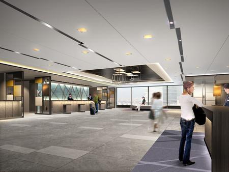 ホテルグランヴィア大阪 19階 新フロント・ロビー イメージパース