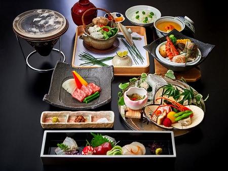 ホテルグランヴィア大阪 19階日本料理「大阪 浮橋」会席料理イメージ