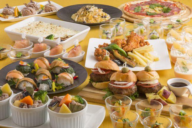 世界各国の料理を楽しめる『ワールドビュッフェ』(イメージ)