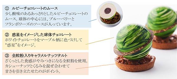 第1回JR四国ホテルズ料理コンテスト スイーツ部門 最優秀賞受賞 秋の新作「ルビー・コロン」 を販売 JRホテルクレメント高松ベーカリーショップにて