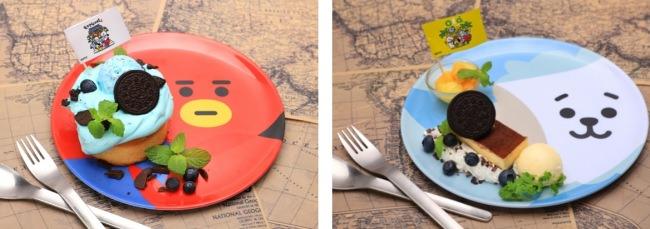 韓国デザートプレート、ブラジルデザートプレート