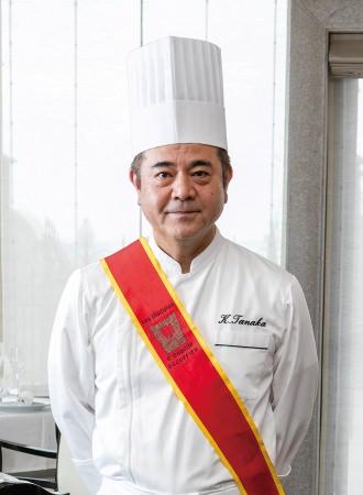 「ホテル ラ・スイート神戸ハーバーランド」総料理長の田中耕太郎