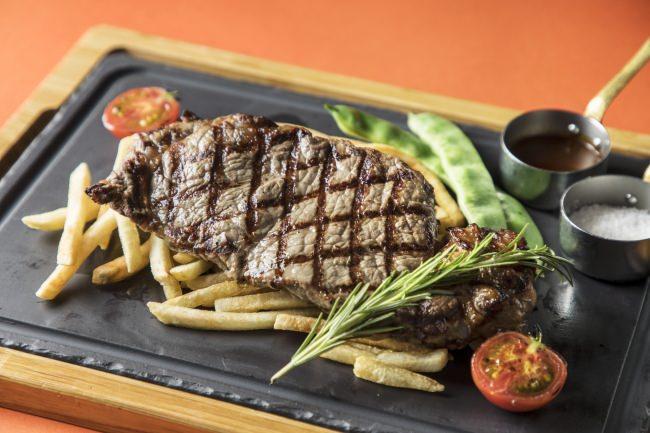 アメリカ産牛リブアイ肉のプランチャー焼き