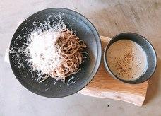 【勝どき】イタリアンと和食の融合!イタリアン×ソバのイタソバは新感覚『Grasara』がリニューアルオープン! [PR]