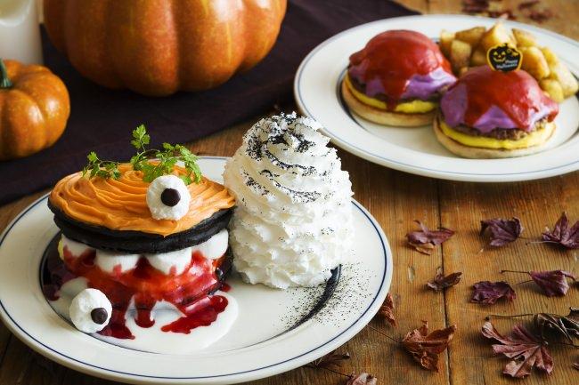 Eggs 'n Thingsに、かぼちゃのおばけがやってきた!大収穫祭2019「パンプキンモンスターパンケーキ」「ハロウィンベネディクト」10月16日(水)~10月31日(木)期間限定販売