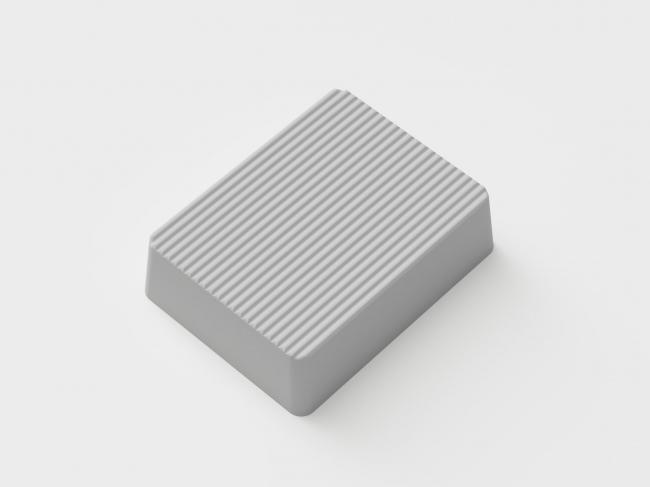 モールド(成形型)作成のための3Dプリンタで造形したバター原型