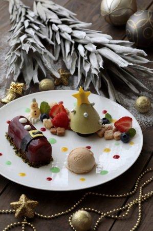 【リーガロイヤルホテル京都】デザートプレート「Happy Christmas」販売