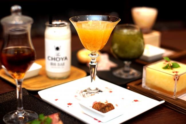 チョーヤ梅酒のカクテル専門BARが東京 銀座に誕生!梅酒カクテルや梅フードなど70種類以上を開発。年間を通して未体験の梅と出会える