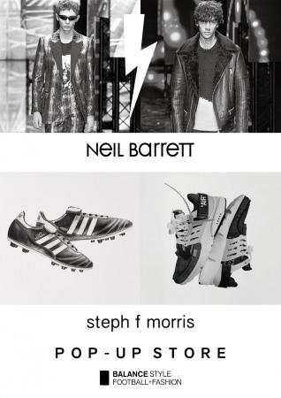「Neil Barrett」「steph f morris」POP-UPを、バランスカフェ表参道ヒルズにて10月25日(金) より開催!