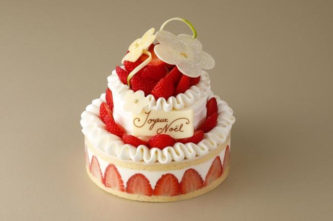 今年はクリスマスローズがチャームポイント!資生堂パーラー『クリスマスケーキ2019』11月1日(金)予約受付スタート♪