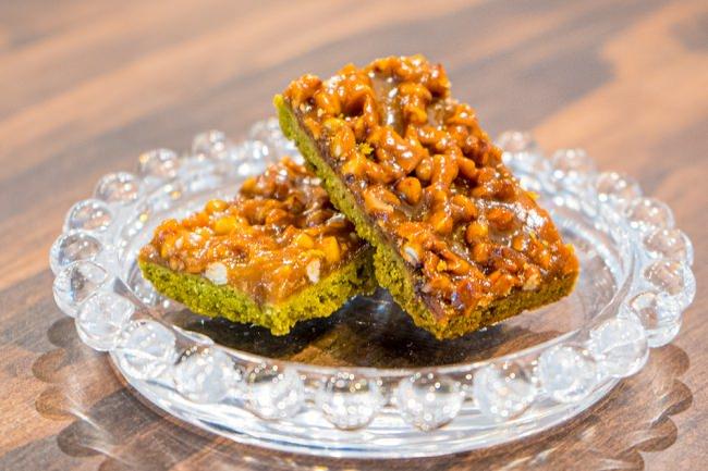 editors fav『るるぶキッチン』会場で販売される洋菓子「宮崎そばフロランタン」は、2019年6月に開催した着地型観光コンテンツ「新富ガストロノミー」でデザートとしても採用されました。