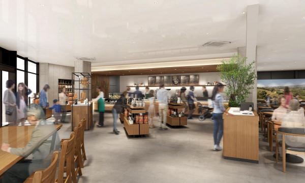スターバックス初、店内・バックヤードともにバリアフリーデザインの店舗が誕生「スターバックス コーヒー 南町田グランベリーパーク店」11月13日(水)オープン