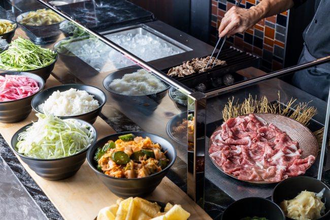 神戸牛焼きしゃぶをお好みのスタイルで 2