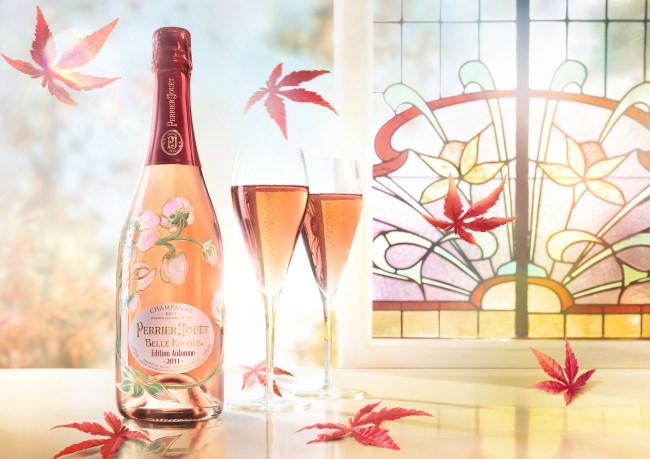 メゾンが贈る、この季節限定のキュヴェ 「ペリエ ジュエ ベル エポック エディション オータム 2011」限定発売
